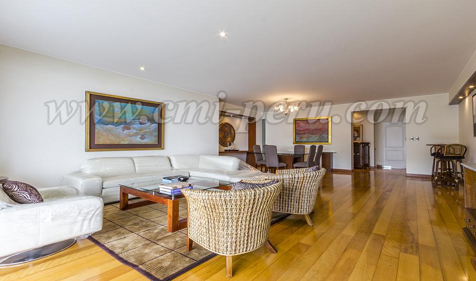 Alquiler departamento amoblado 3 dormitorios en Barranco